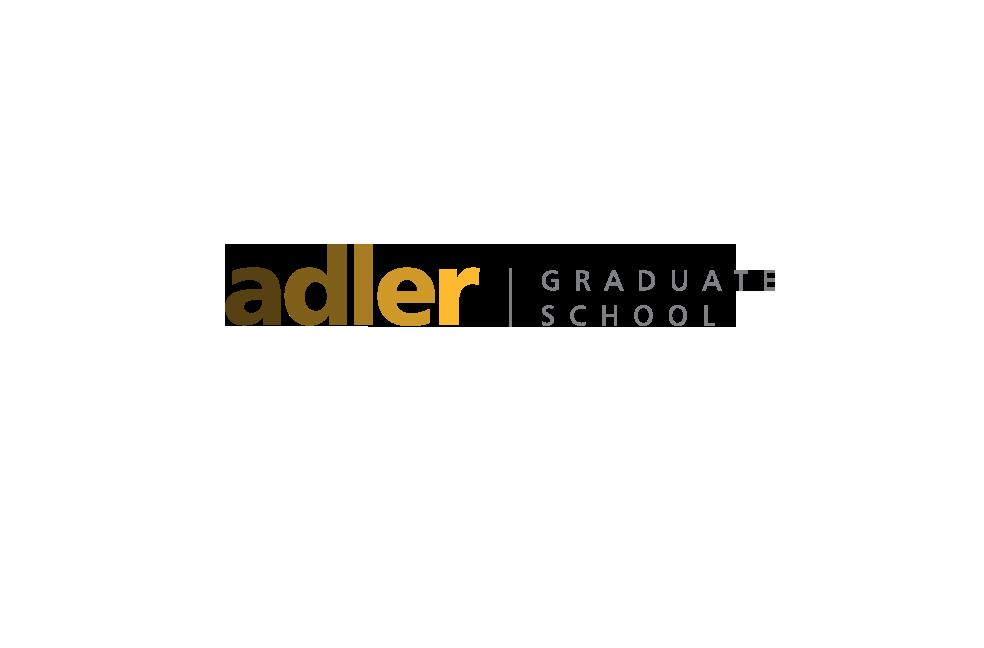 Logo for Adler Graduate School