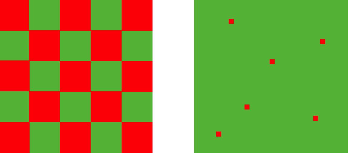 Красный зеленый какой цвет