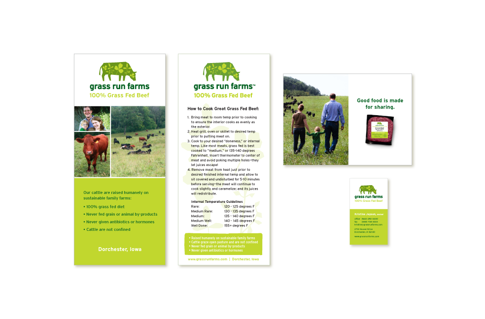 Communications design for Grass Run Farms