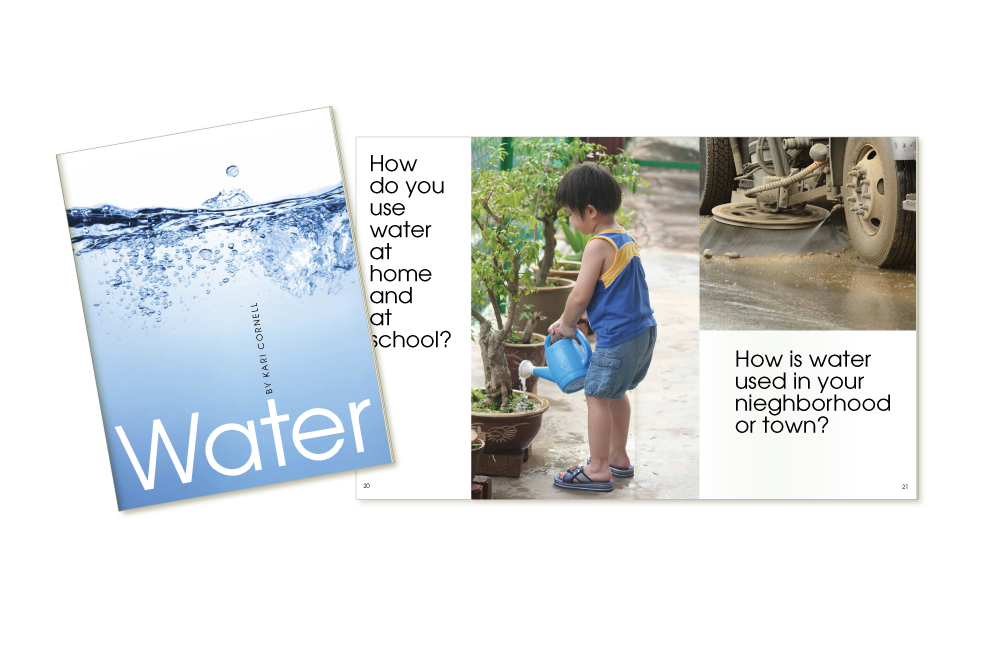 Water brochure design for Kaplan University