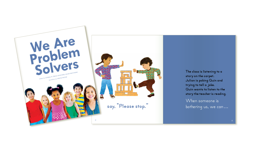 We are Problem Solvers booklet for Kaplan University