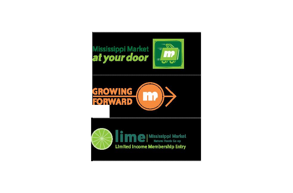 Initiative icon designs for Mississippi Market