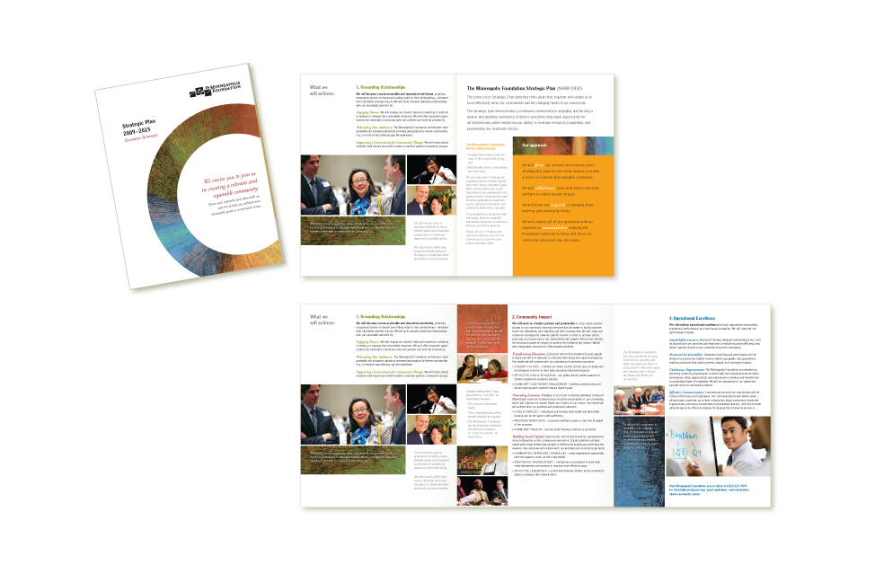 Strategic plan executive summary for Minneapolis Foundation