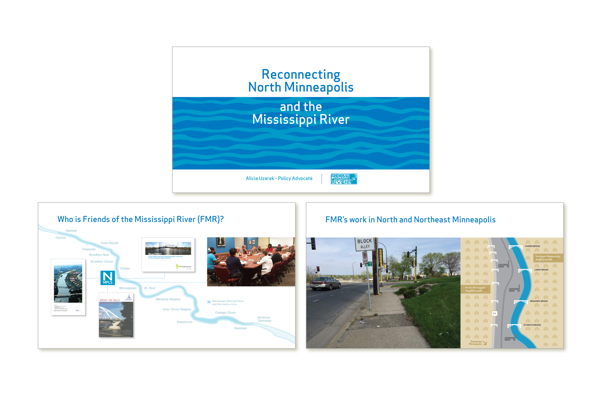 Friends of the Mississippi River powerpoint presentation