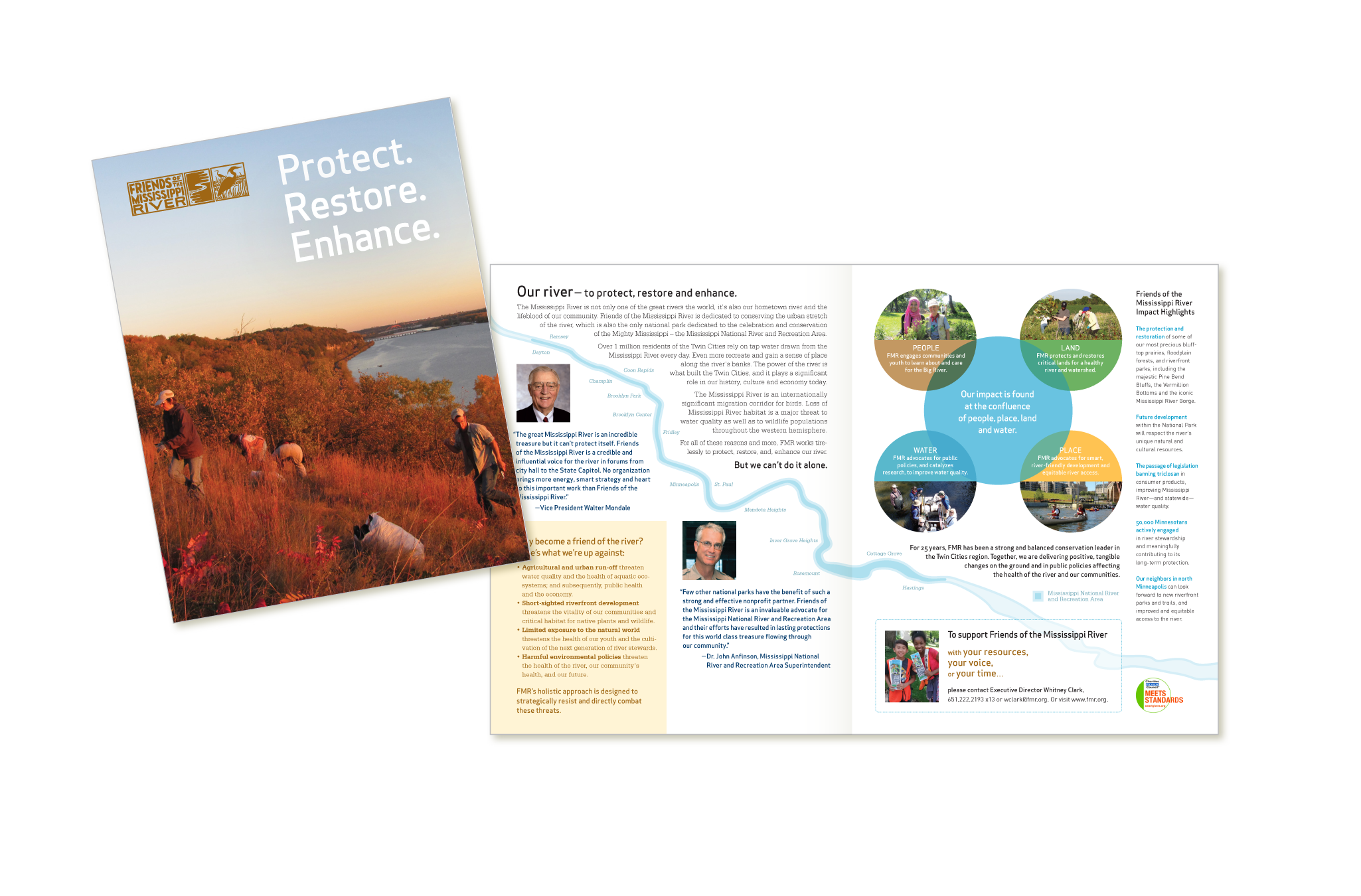 Friends of the Mississippi River report to stakeholders