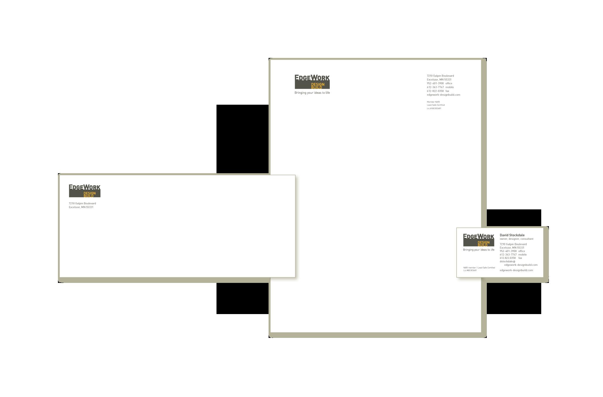EdgeWork Design Build | Triangle Park Creative | print ...