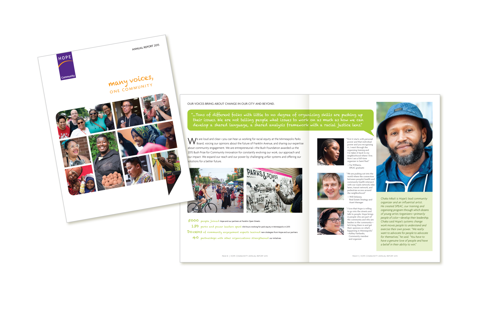 Hope Community 2015 Annual Report