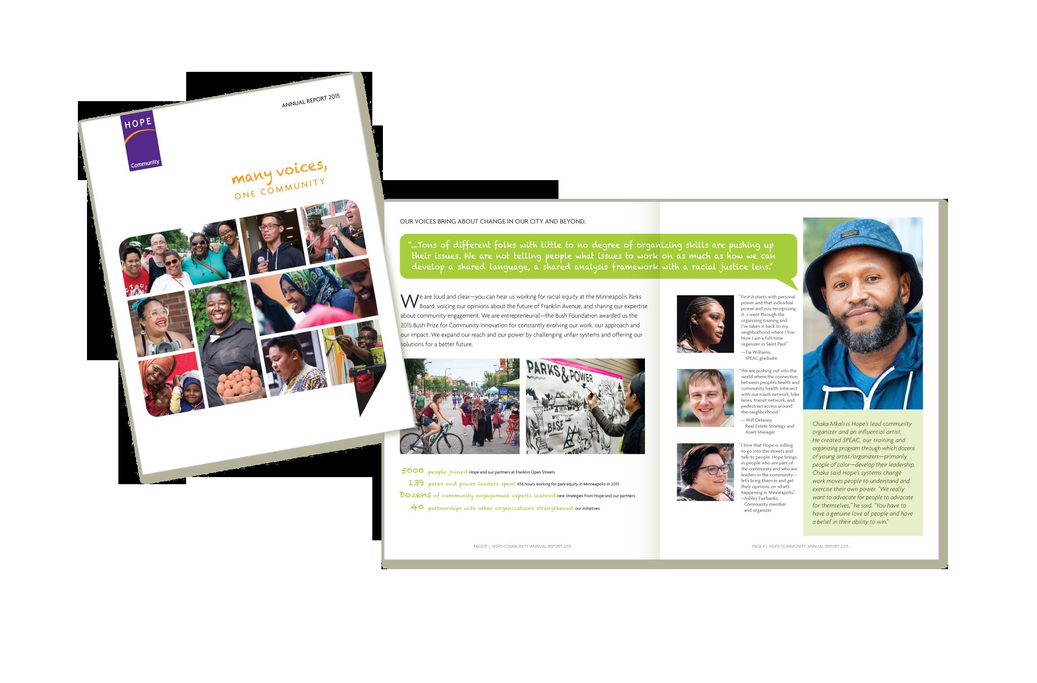 Hope Community 2015 Annual Report