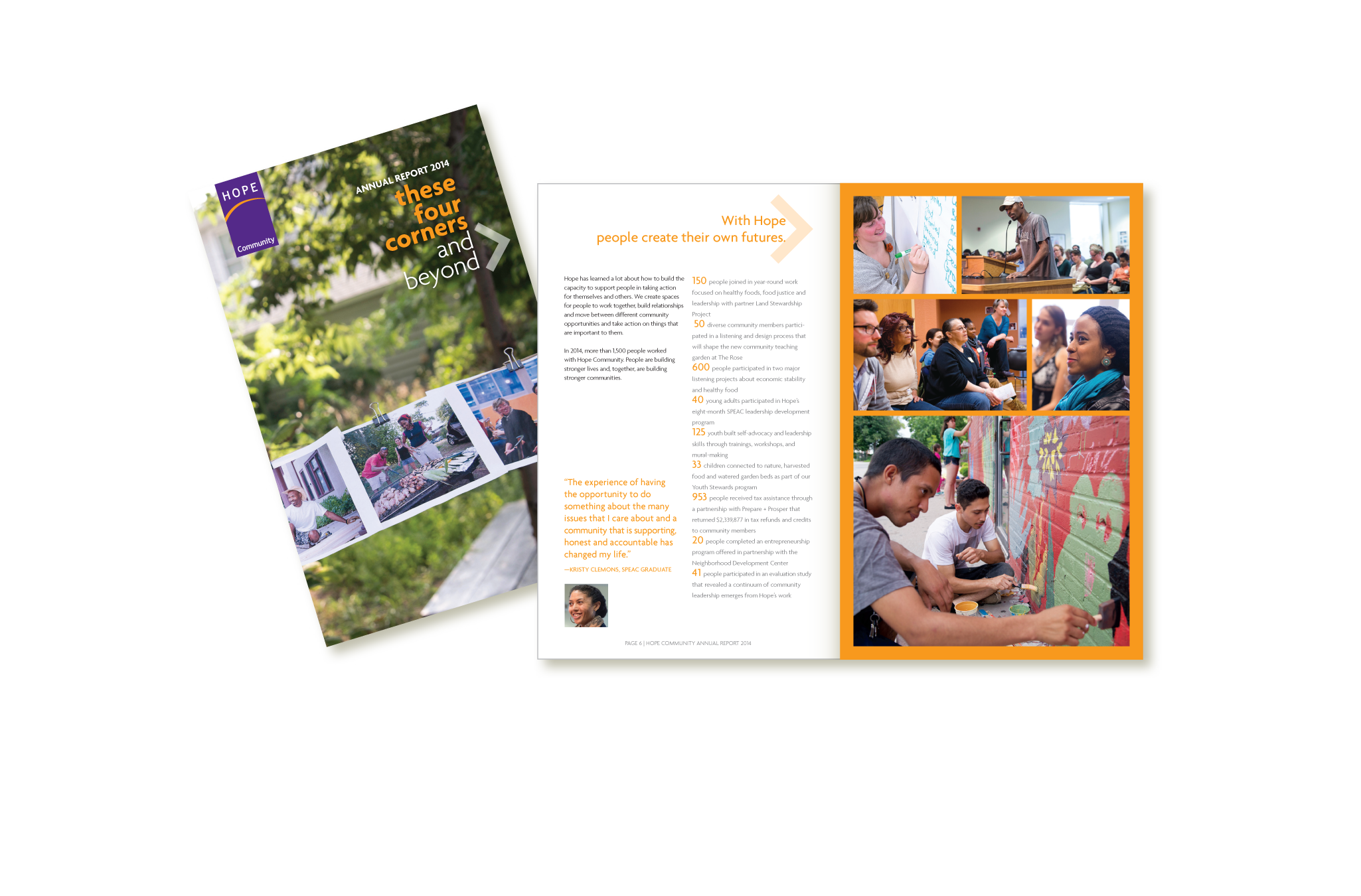 Hope Community 2014 Annual Report