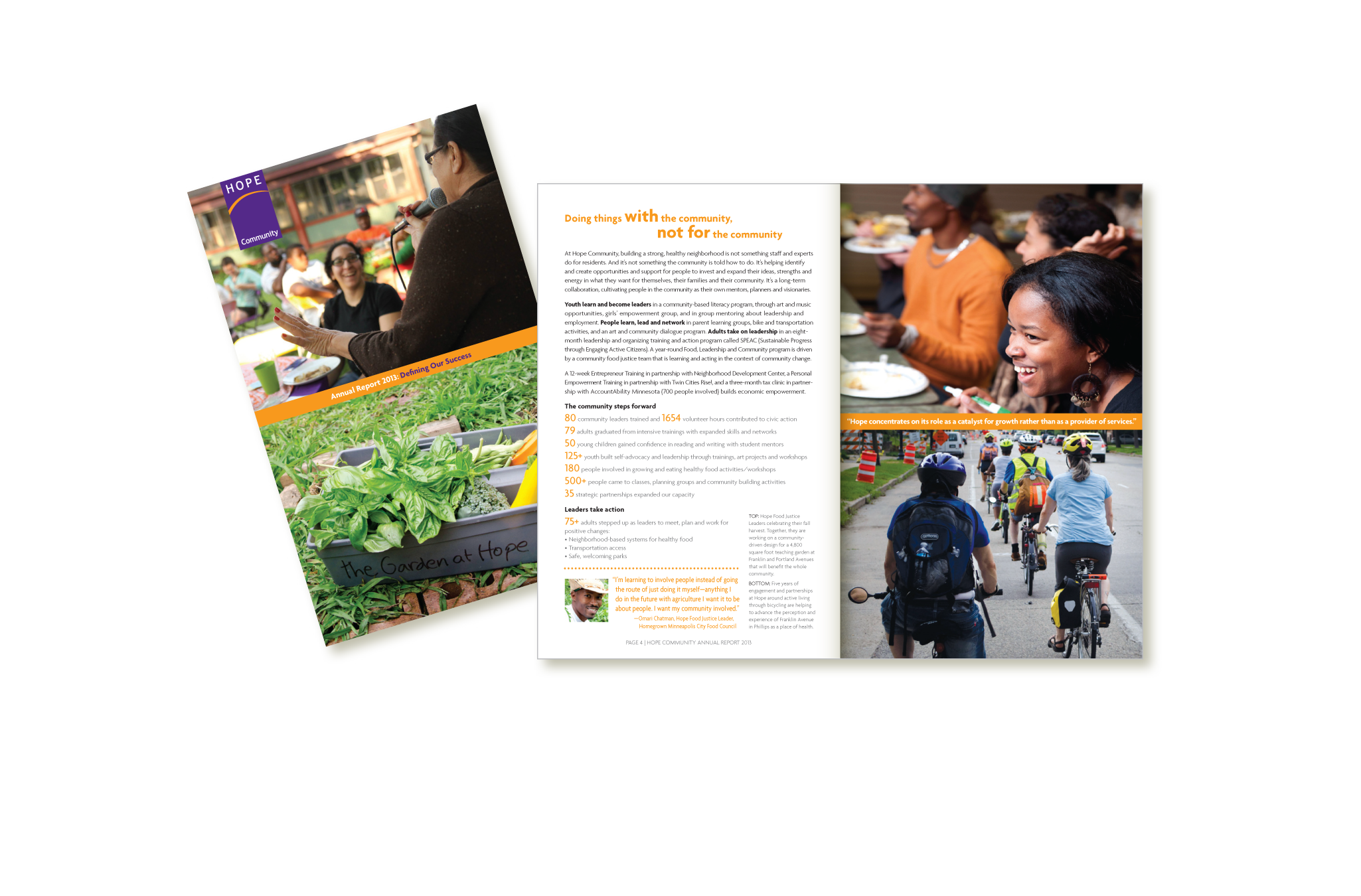 Hope Community 2013 Annual Report