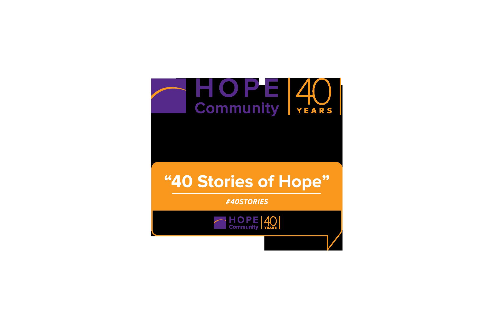 Hope Community social media graphics