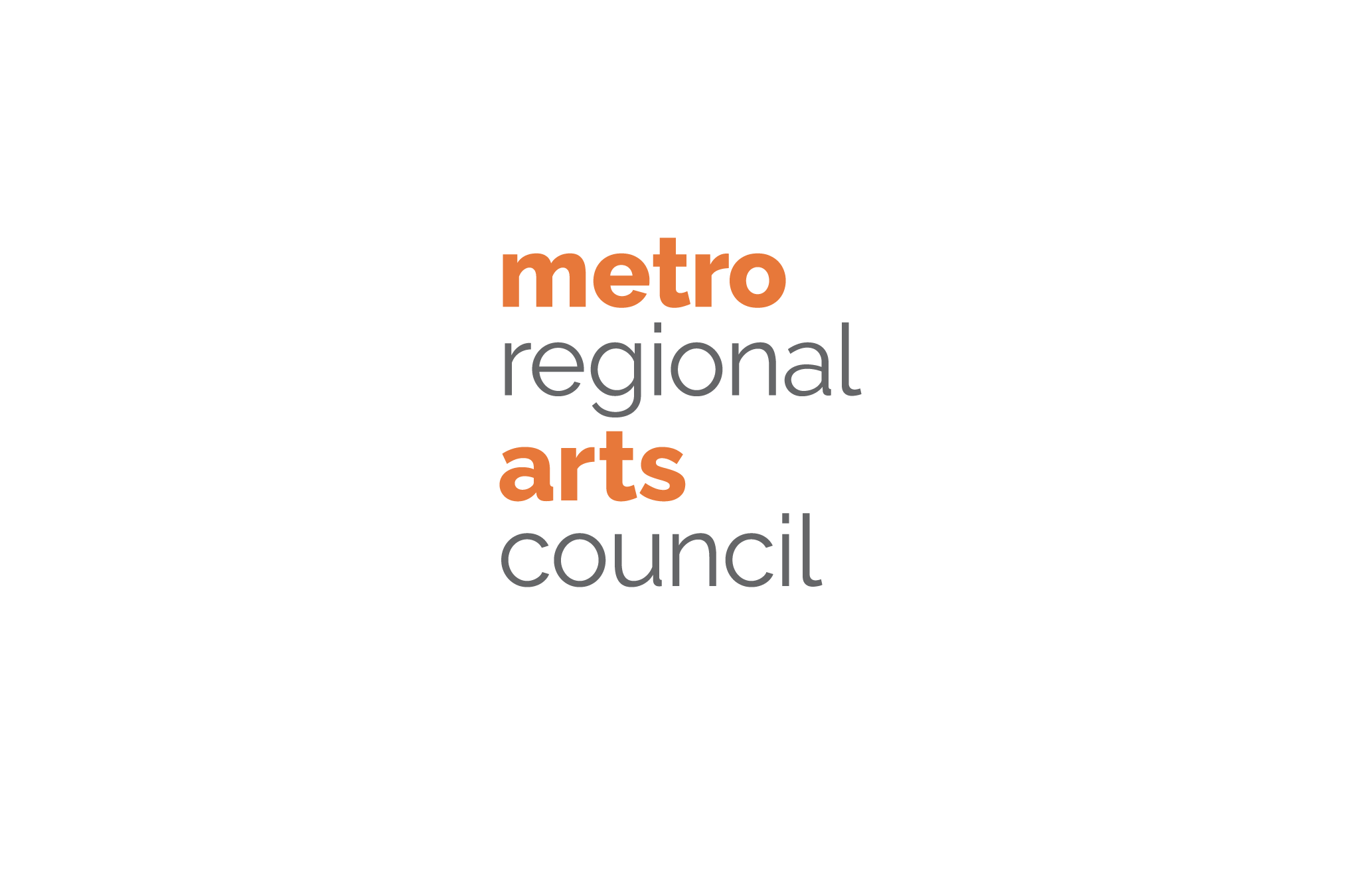Metropolitan Regional Arts Council new 2-color logo