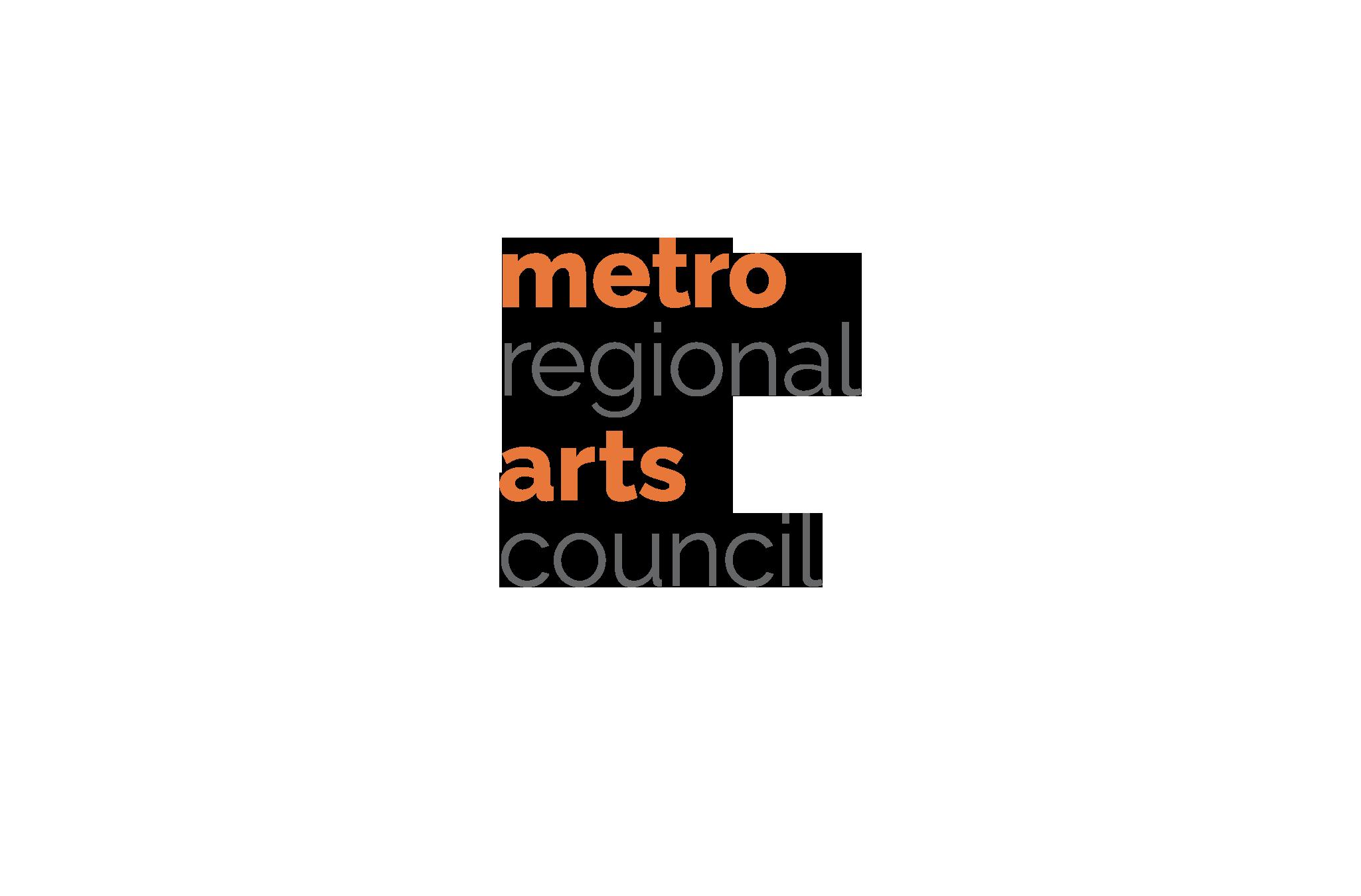 Metropolitan Regional Arts Council new 2-color logo