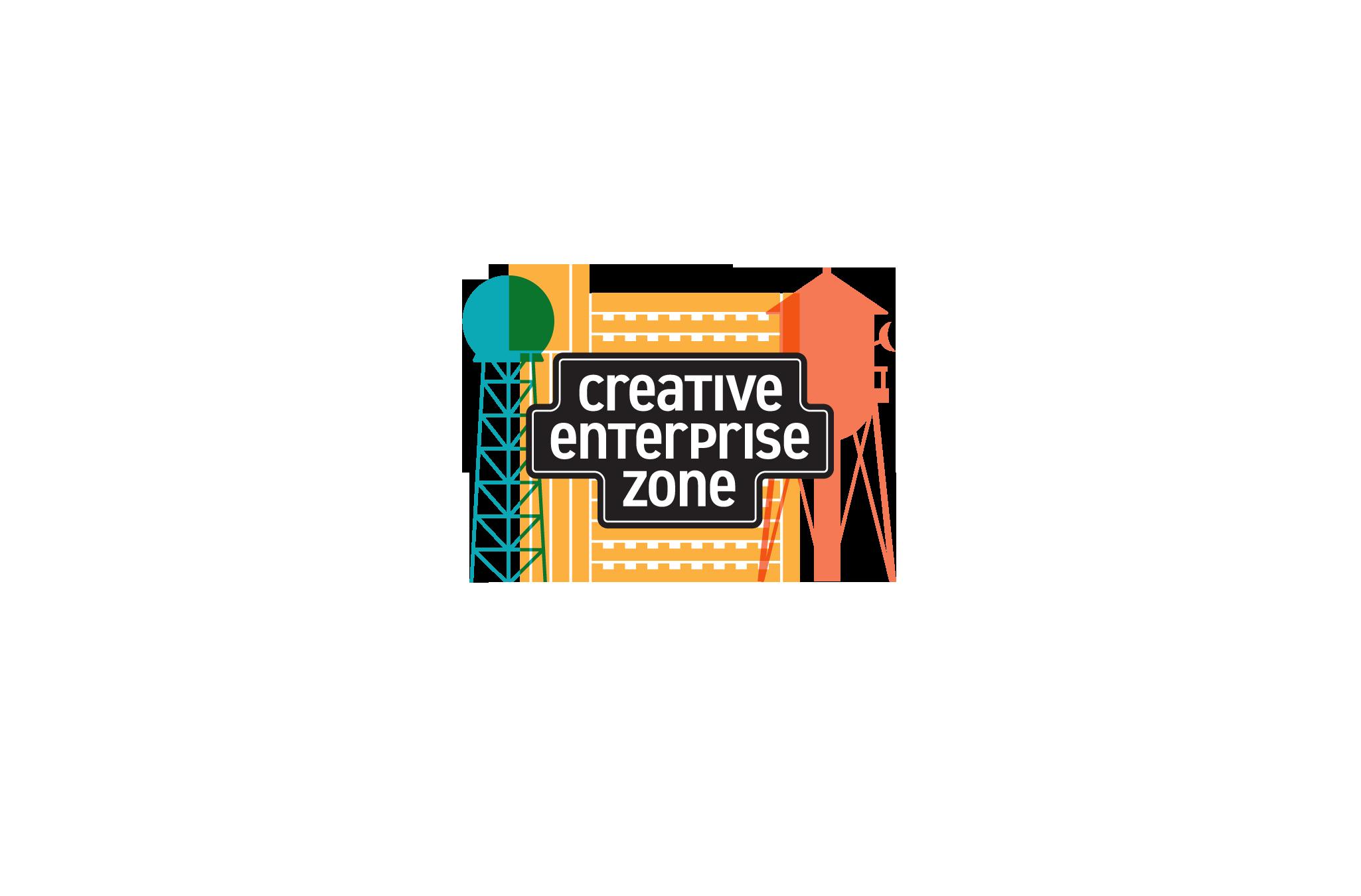 Creative Enterprise Zone logo