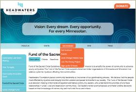 Thumbnail image for Headwaters Foundation for Justice