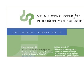Thumbnail image for Minnesota Center for Philosophy of Science